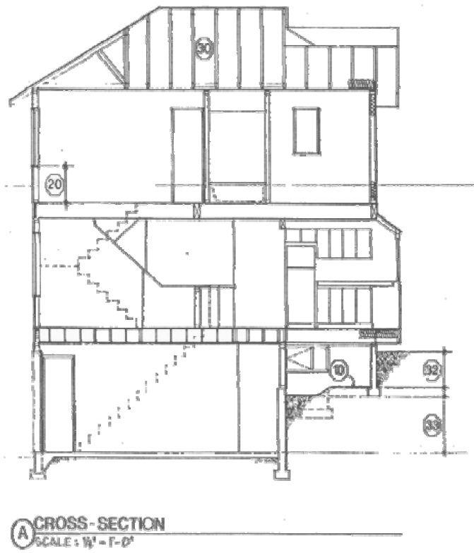 cross section drawing | Arch Symbols & Documentation | Pinterest ...