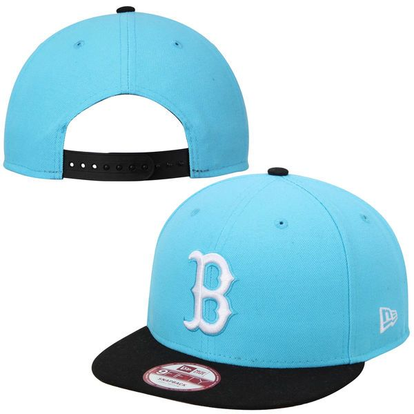 quality design a210d dc132 ... low cost mens boston red sox new era blue black 2 tone league basic  9fifty snapback