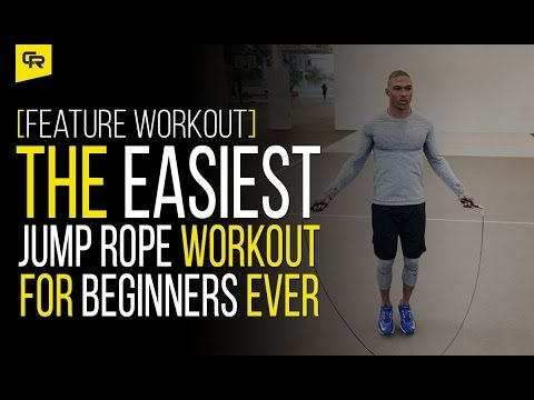 the easiest jump rope workout for beginners ever feature