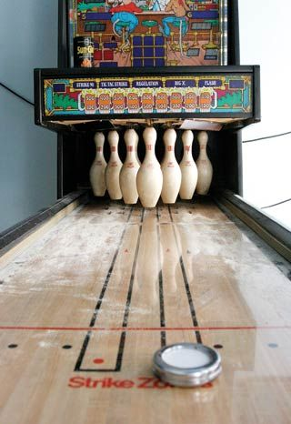 Shuffle Bowling Vintage Games The Good Old Days Childhood Games
