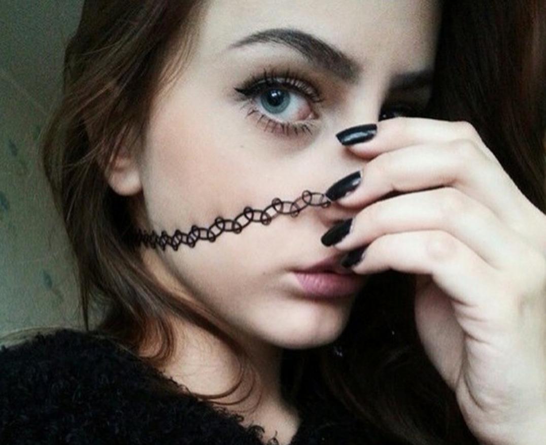Eyebrows. Just eyebrows.