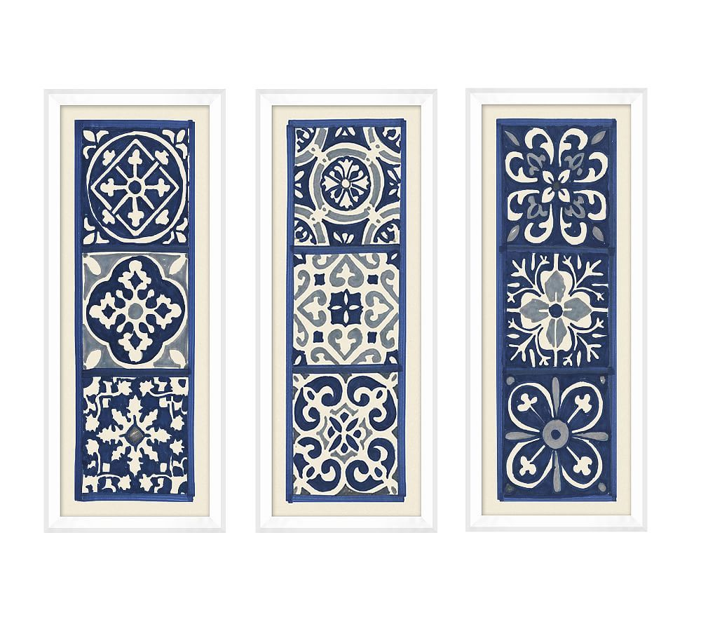 Photo of Santorini Tile Prints