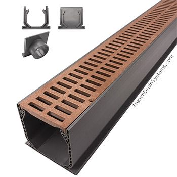 NDS Mini Channel Gardens u2022 Courtyards Pinterest Trench drain