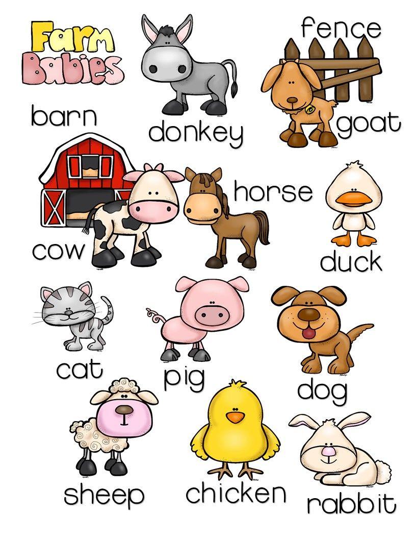 farm animals pack with montessori inspired activities the super teacher tpt farm animals. Black Bedroom Furniture Sets. Home Design Ideas