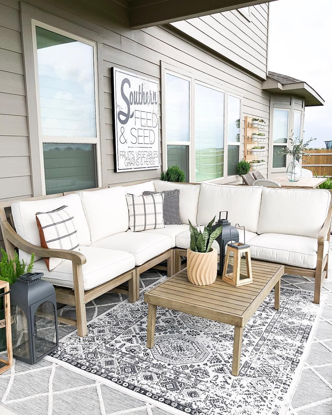 Pin By Maria Warren On Patio And Outdoor Small Outdoor Patios Outdoor Patio Decor Outdoor Patio Furniture