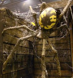 prop showcase giant spider build from tk421 page 7 halloween spider decorationsdiy - Giant Spider Halloween Decoration