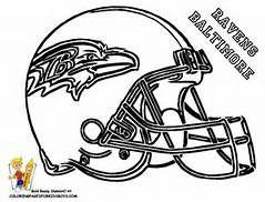 Ravens Coloring Page Nfl Football Helmets Football Helmets