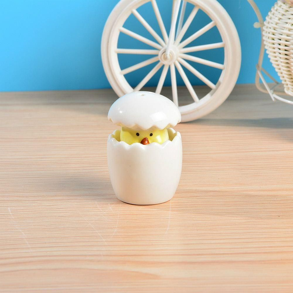 About to hatchud ceramic baby chick salt u pepper shakers favors