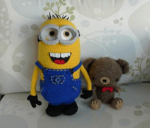 Tolle Diy Anleitungen Zu Den Minions Amigurumi Kids Crochet And