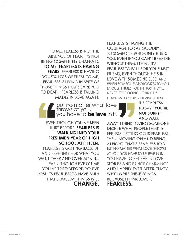 type layout quotes by e gilman via behance