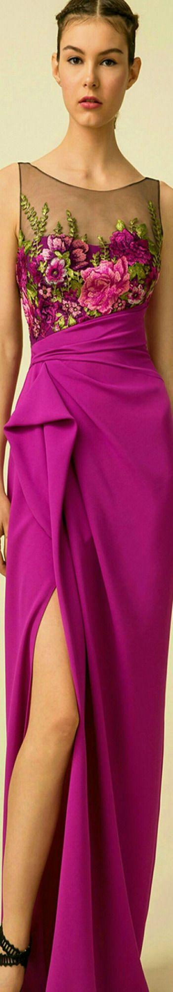 Marchesa Notte Spring 2016 | DREAM DRESSES | Pinterest | Vestiditos