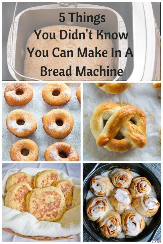 Bread Machine Recipes That Will Change The Way You Use ...
