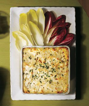 Hot Ricotta Dip - helloooo gourmet party food!