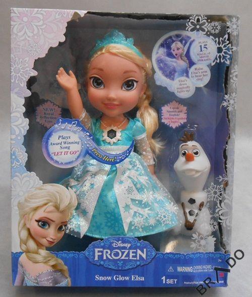 Kraina Lodu Frozen Mala Elsa Interaktywna Swieci 4754872696 Oficjalne Archiwum Allegro Mariazinha