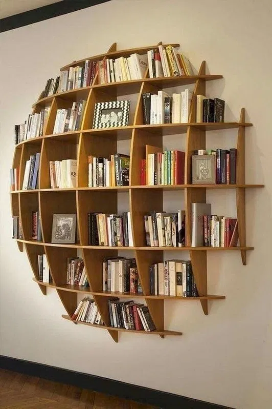 55 Unique And Creative Bookshelves