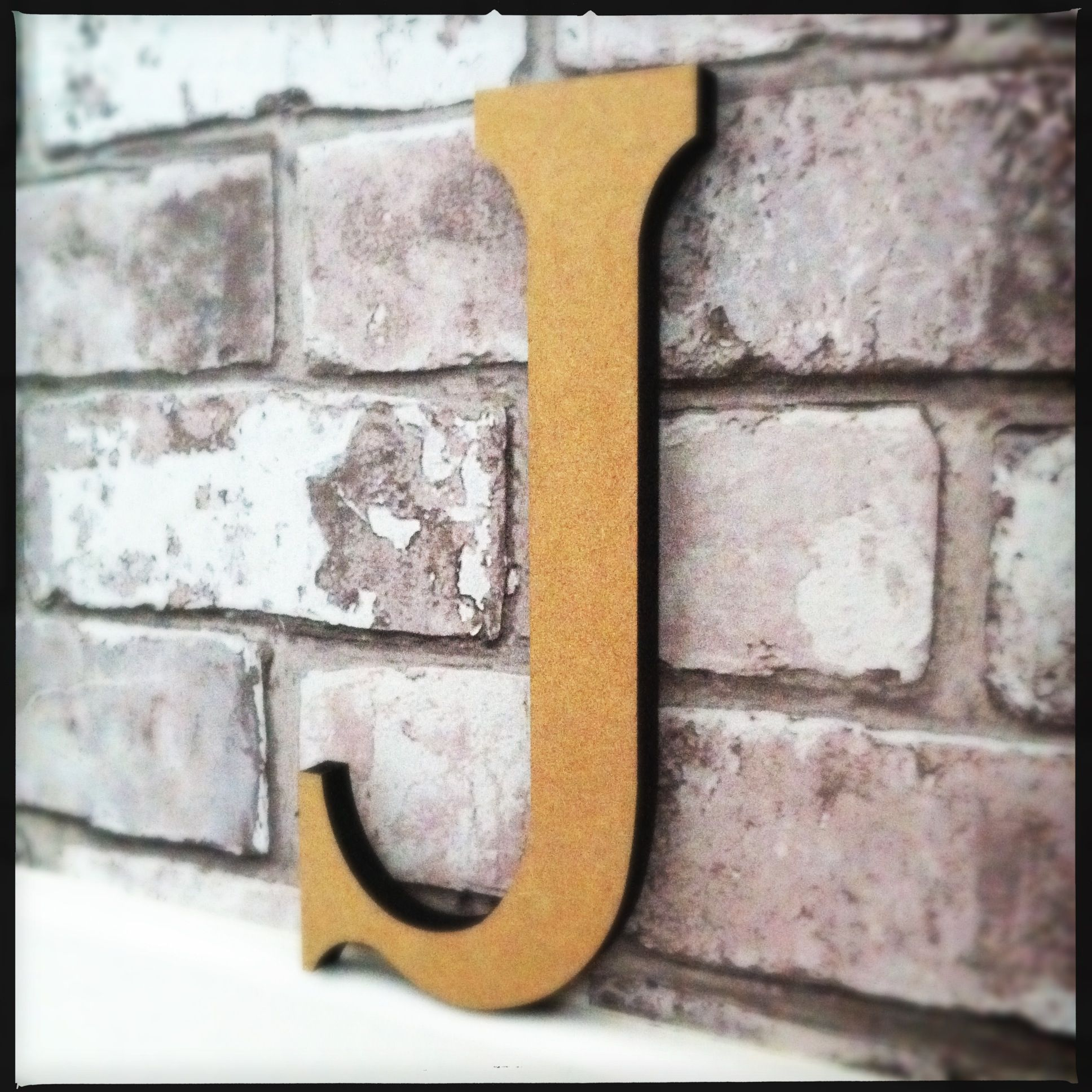 Letter J  In my case for Jesus.  Or for John, Jeanne, Jennifer or Jerry.