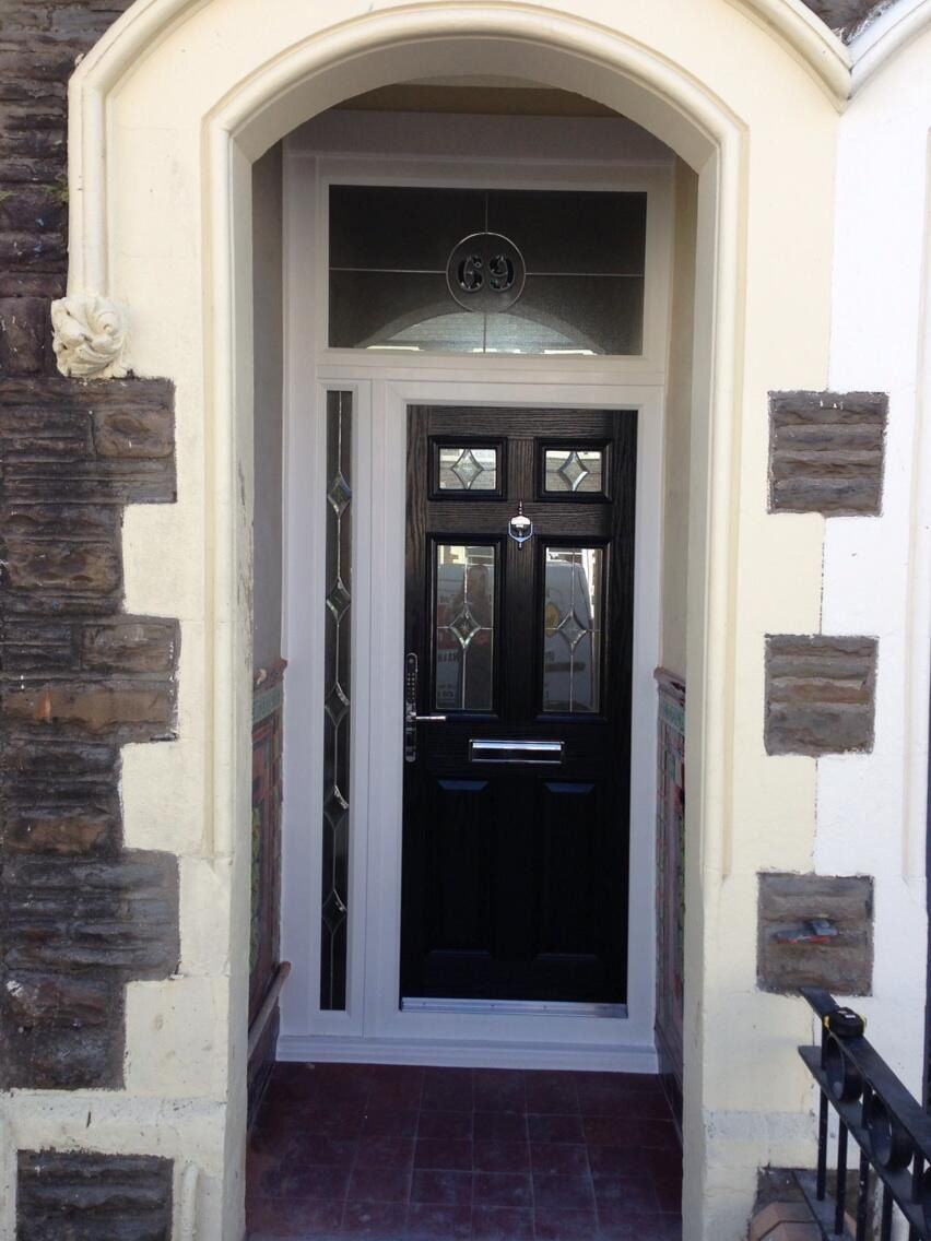 Composite door installed for a customer in Cardiff & Composite door installed for a customer in Cardiff | Entrance Doors ...