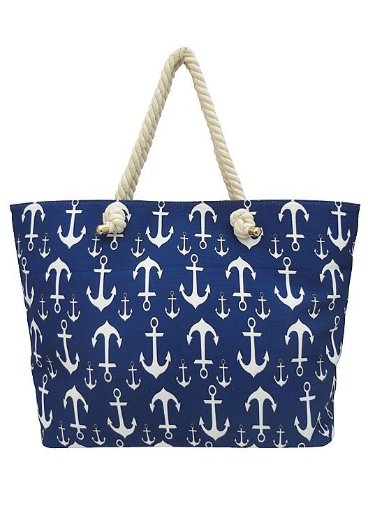 Need the perfect beach tote? Venus anchor beach tote.
