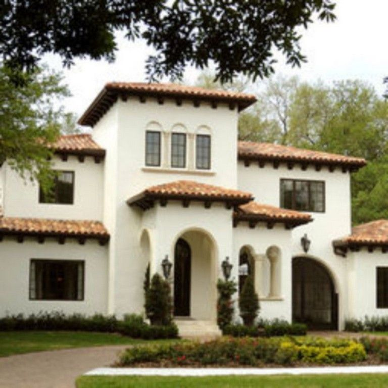 38 Awesome Spanish Style Exterior Paint Colors You Will Love Page 13 Of 40 Mediterranean Homes Exterior Mediterranean House Designs Exterior House Colors