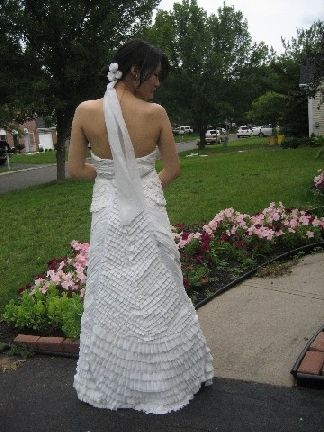 Prom Royalty Dons Duct Tape Duct Tape Prom Dress Duck Tape