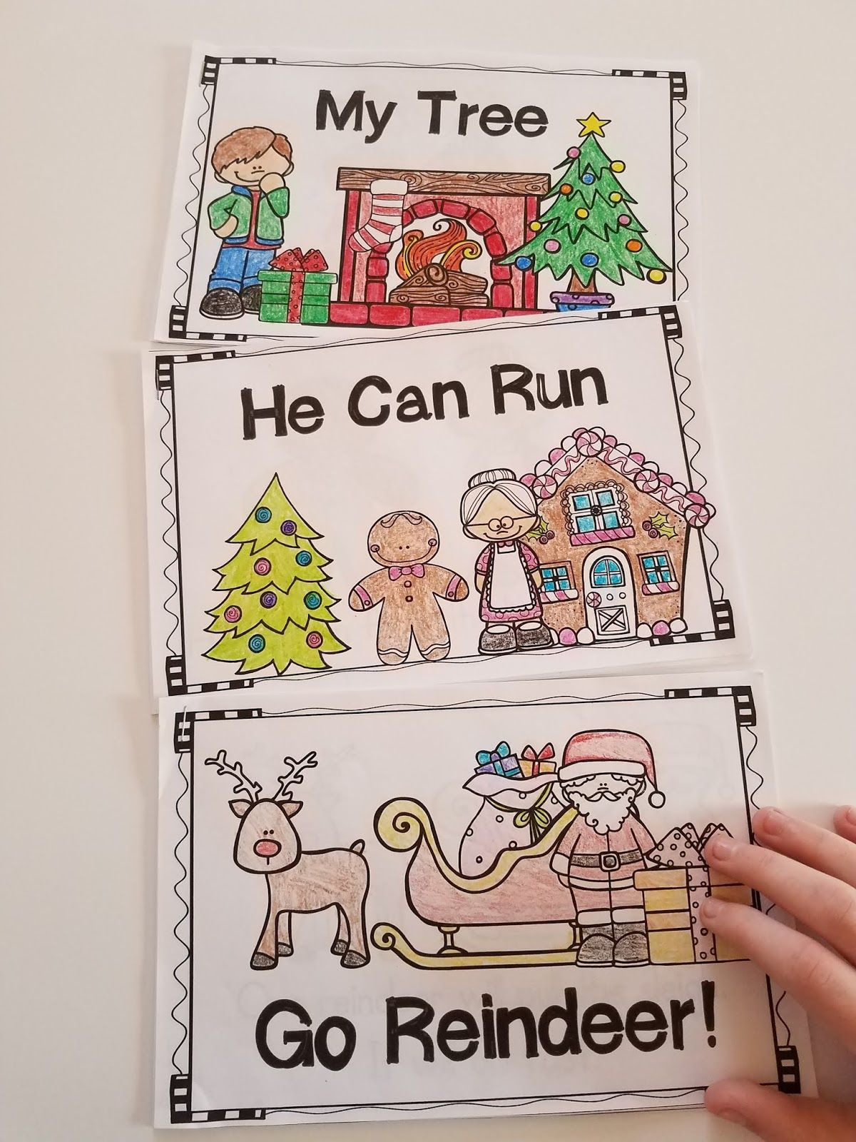 Christmas Emergent Readers And Poems