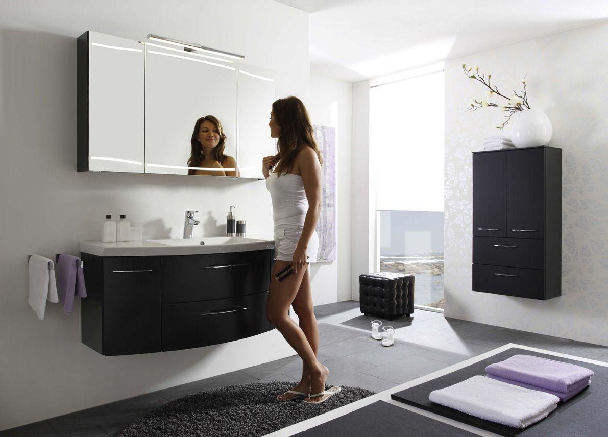 Pelipal Cassca Anthrazit Luxus Badezimmer Wohnzimmermobel Badezimmer