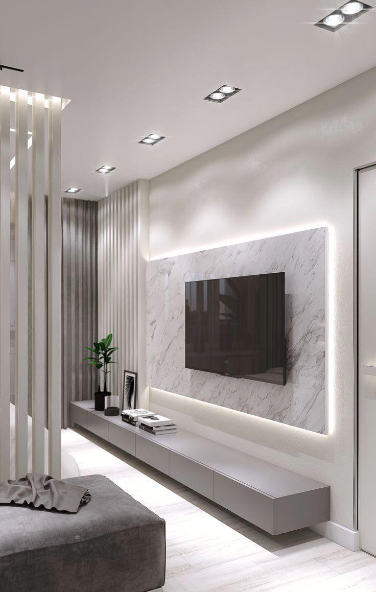 Twitter in 7  Living room wall designs, Living room design