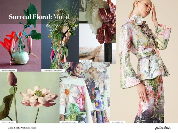 Vision 3 Spring Summer 2019 Print Pattern Trend Report Trends