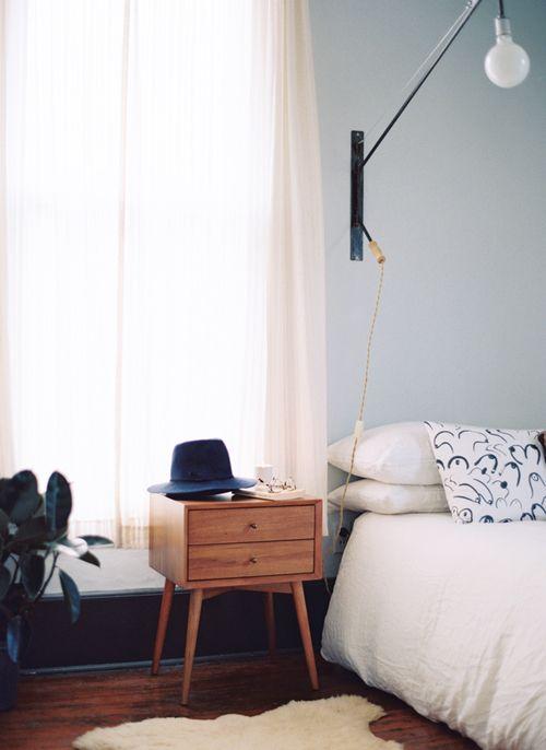 Bedroom Details 自宅で 模様替え ベッドルーム インテリア