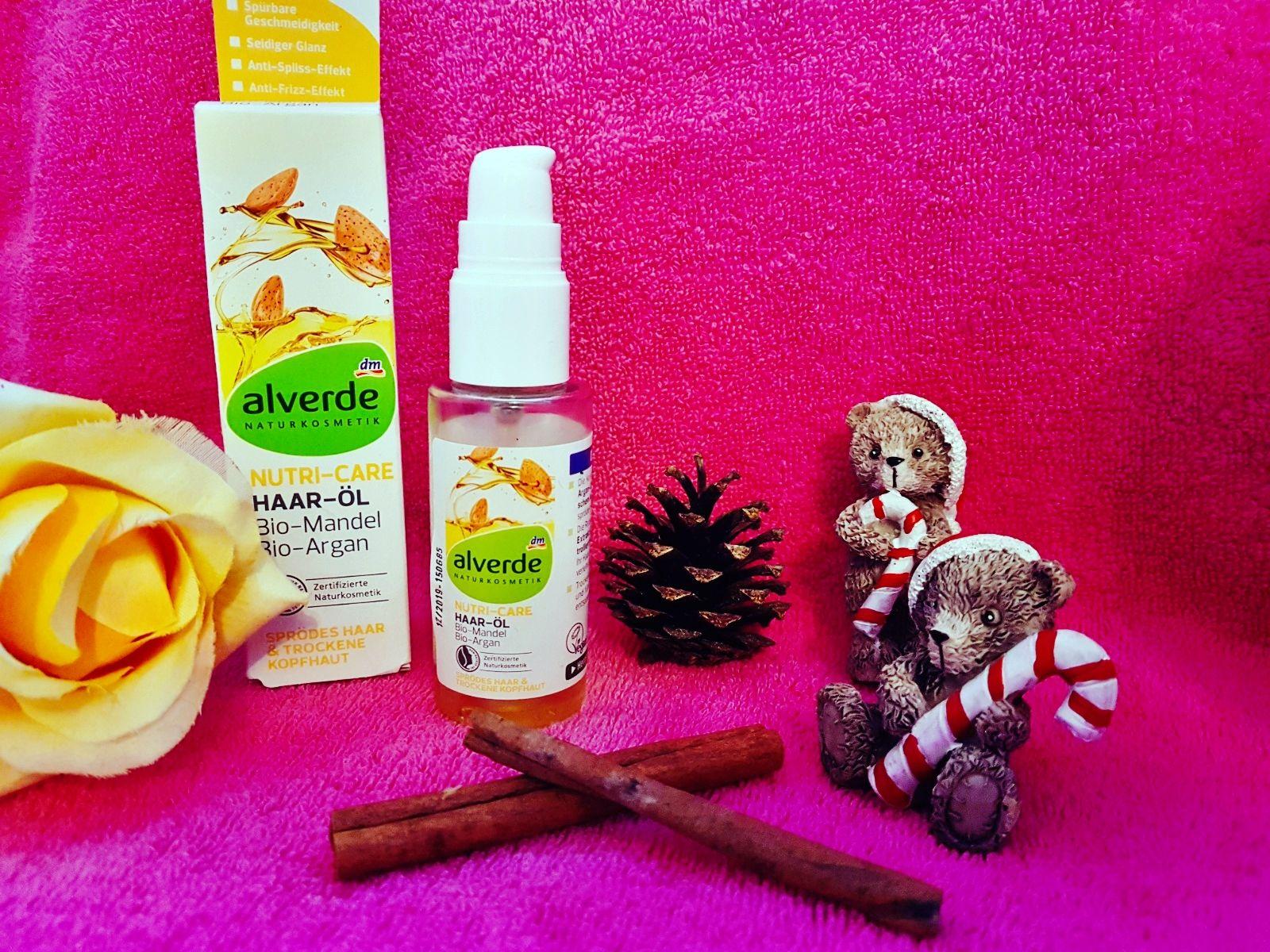 Alverde Nutri-Care Haar-Öl Bio-Mandel und Bio-Argan Erfahrung