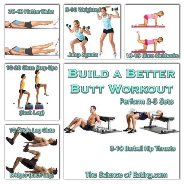 Workout Build A Better Butt