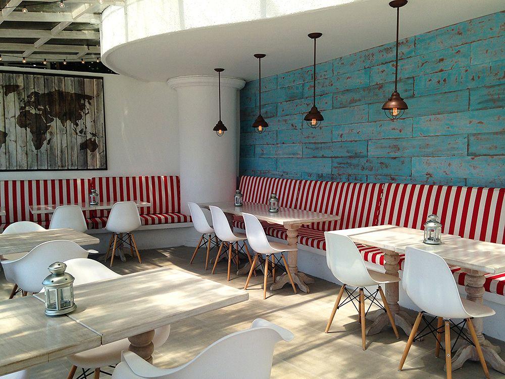 Italian restaurant verona terrace view mediterranean - Interior design verona ...