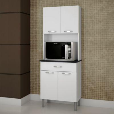 Kits paran mueble microondas 62 cm blanco for the home for Muebles de cocina homecenter