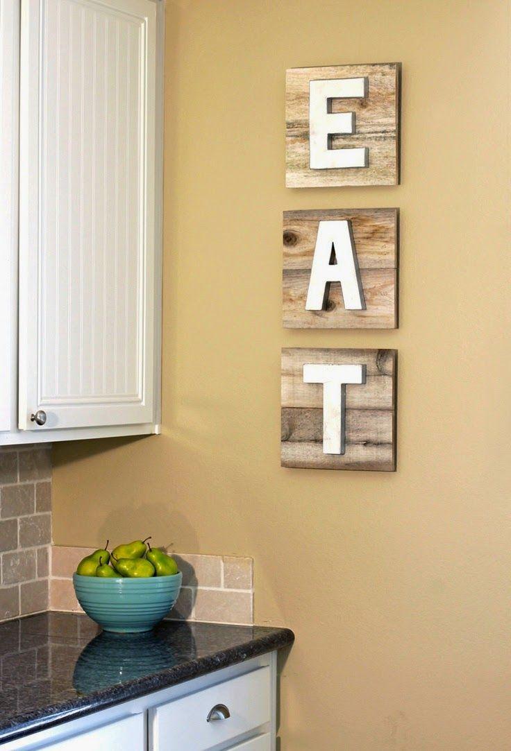 Cozinha: decoração e arrumação ao pormenor | Artesanato | Pinterest ...