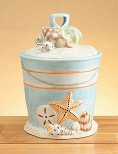 Beach Themed Cookie Jars
