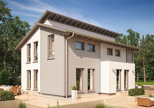 g nstig bauen rotdornallee ein fertighaus von gussek haus architektur pinterest. Black Bedroom Furniture Sets. Home Design Ideas