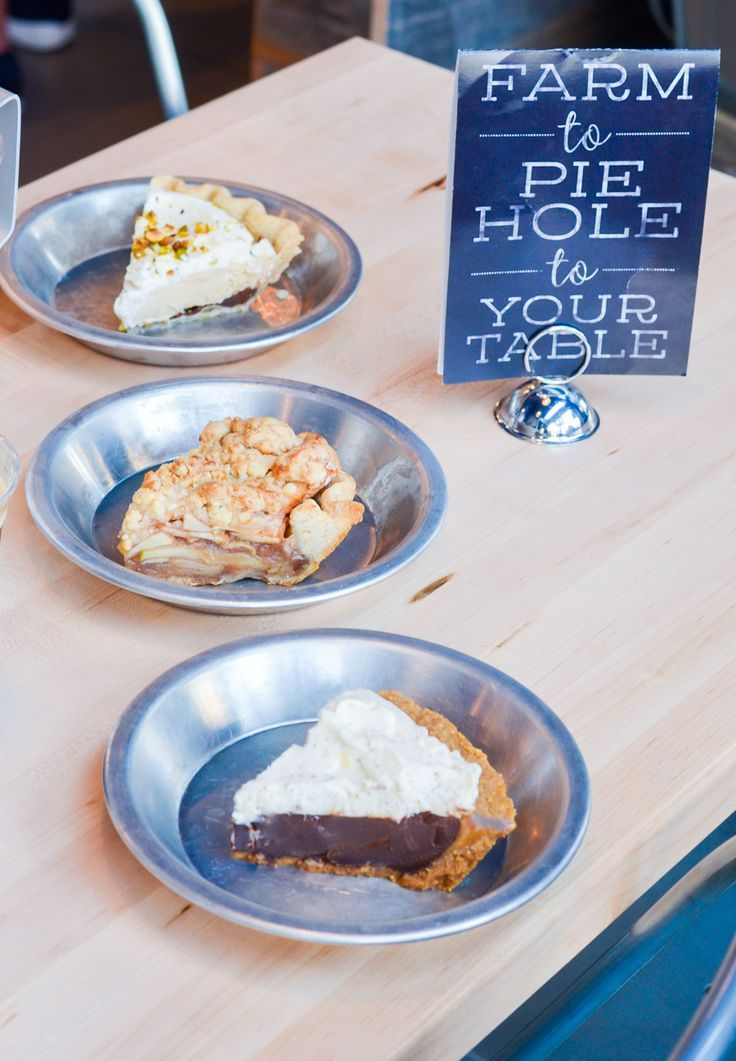 Delicious Dessert Spots in LA | The Pie Hole :: Pasadena, Downtown LA, Hollywood | Luci's Morsels :: LA Travel Blogger