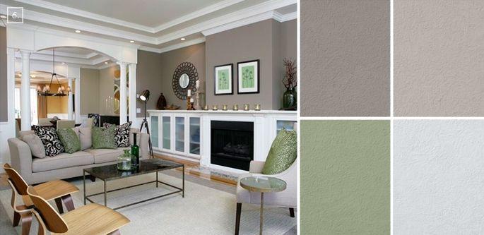 ideas for living room colors paint palettes and color on living room paint color ideas id=55787