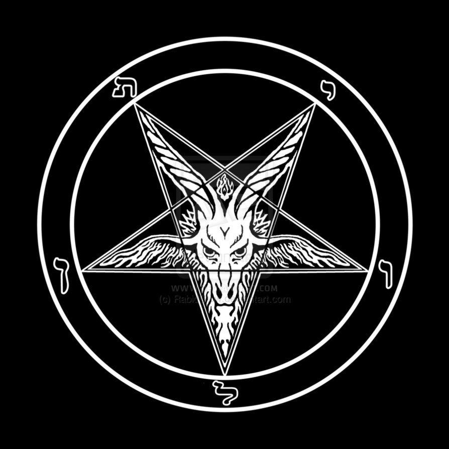images of satanic symbols | baphomet_sigil_of_satan_and ...