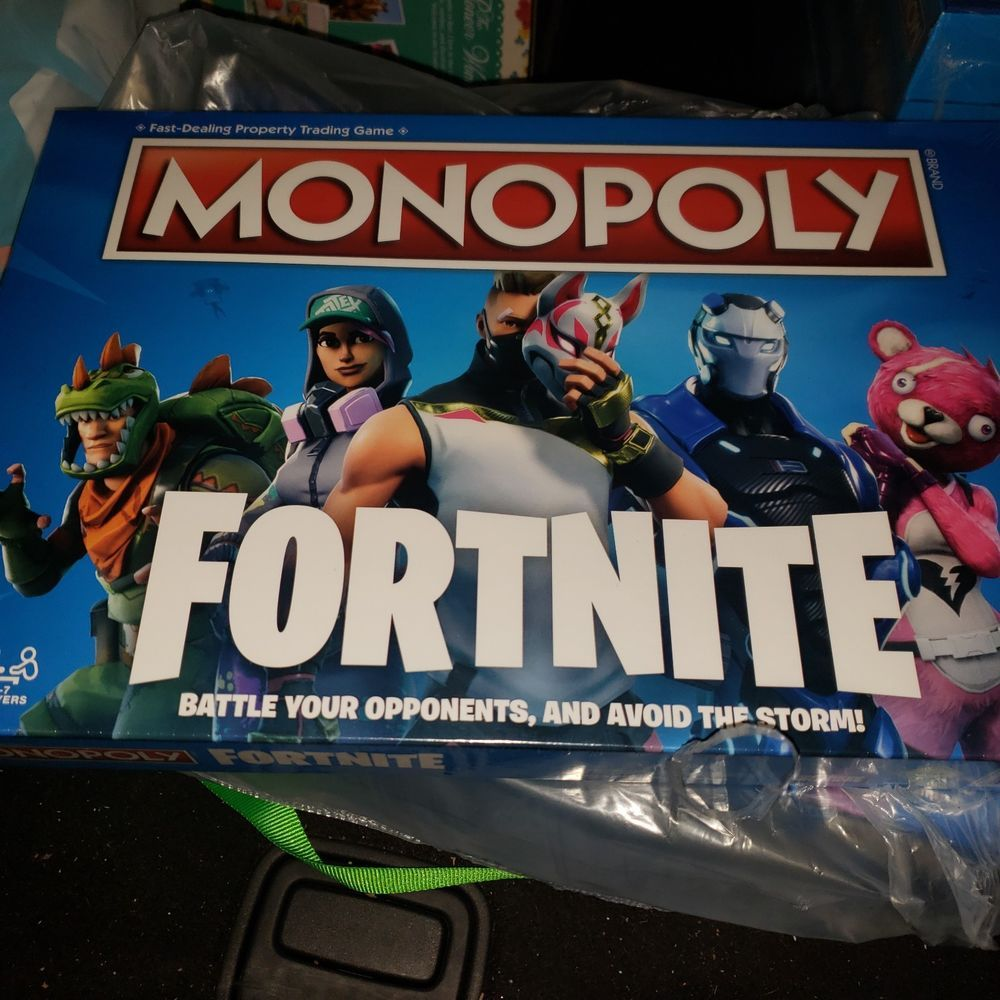 Fortnite Monopoly Limited Edition In Hand Ready To Ship Fortnite