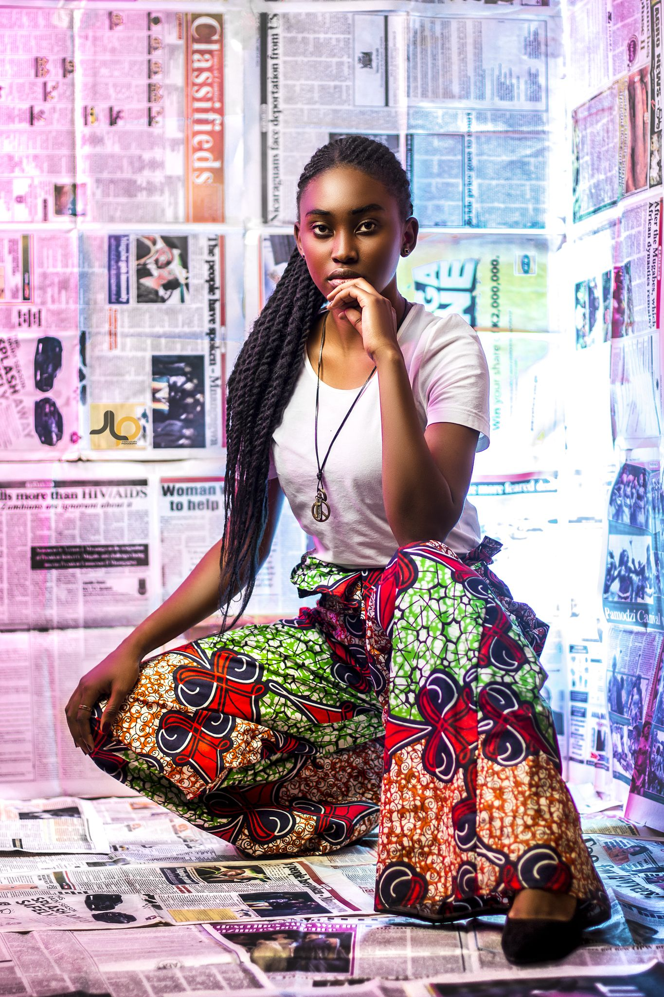 Newspaper Shoot Designer Clothes Artistic Fashion Photography Creative Fashion Photography Creative Photoshoot Ideas
