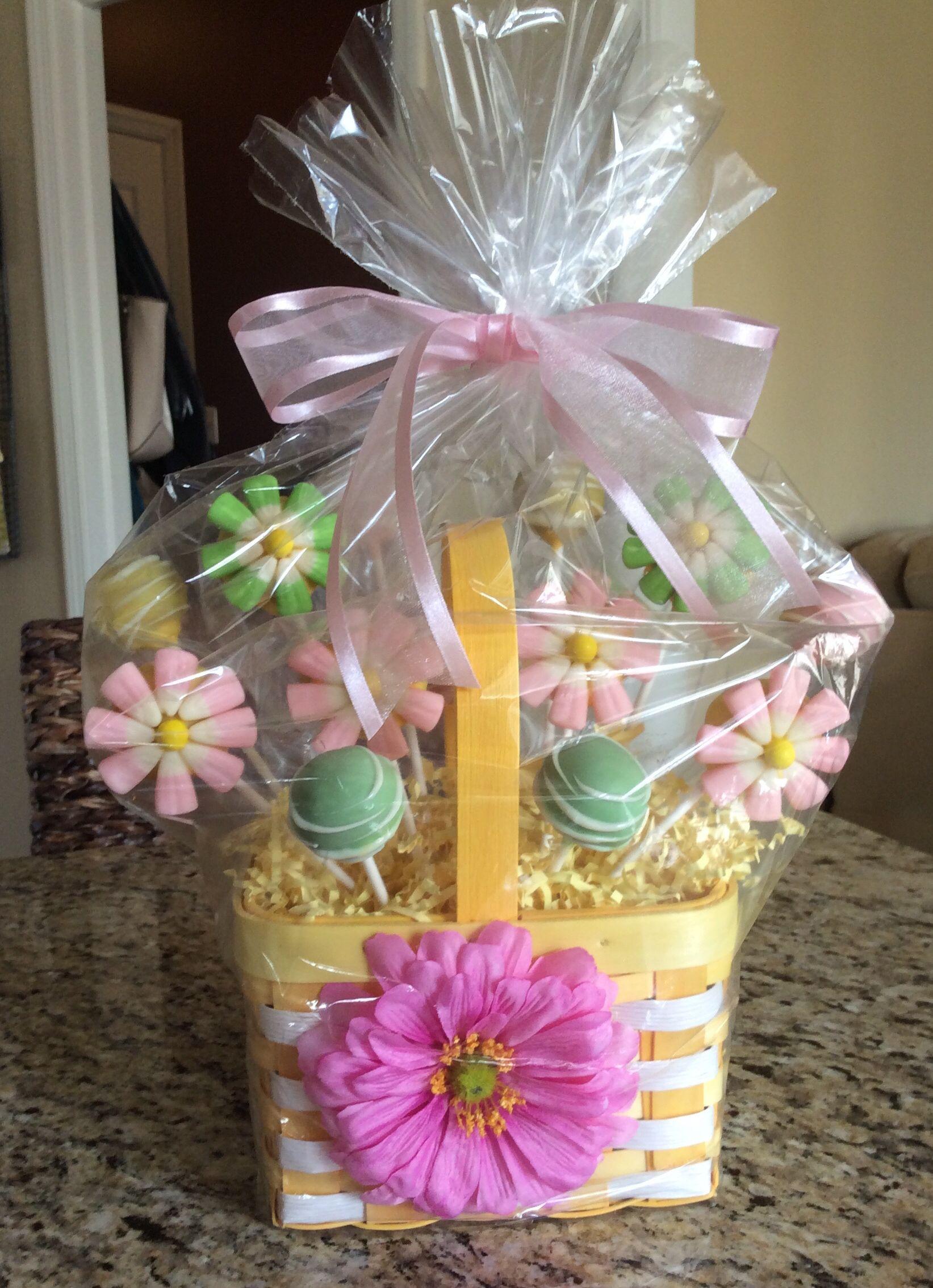 Flower Cake Pop Bouquet Made By Amy At Facebookmisscakepop
