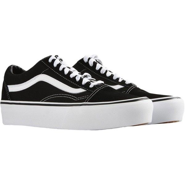 9512c24a6351 VANS UA OLD SKOOL PLATFORM Sneakers (6.925 RUB) ❤ liked on Polyvore  featuring shoes