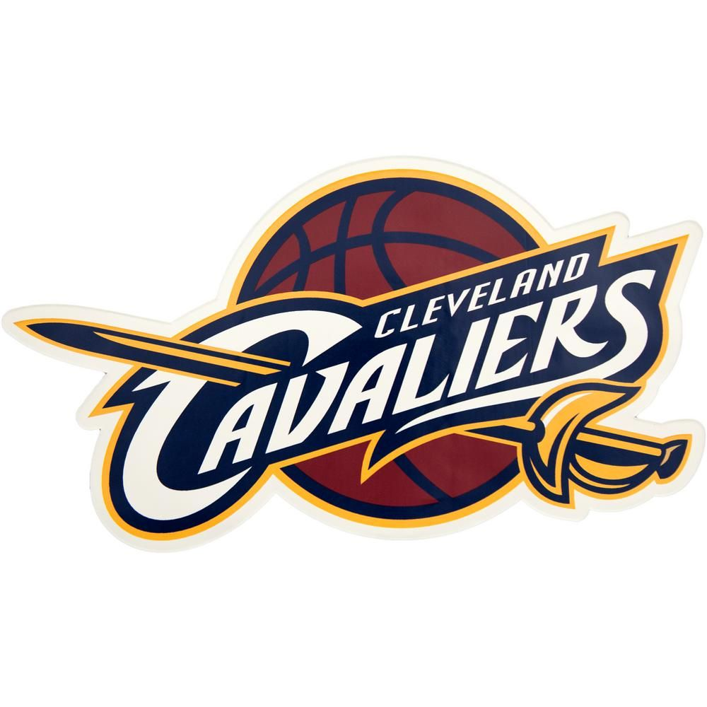 7728598290f5 Applied Icon NBA Cleveland Cavaliers Outdoor Logo Graphic- Small, Red