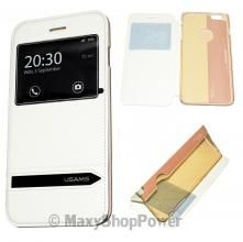 ORBYX CUSTODIA ORIGINALE FLIP FOLIO BOOK CASE APPLE IPHONE 5C WHITE