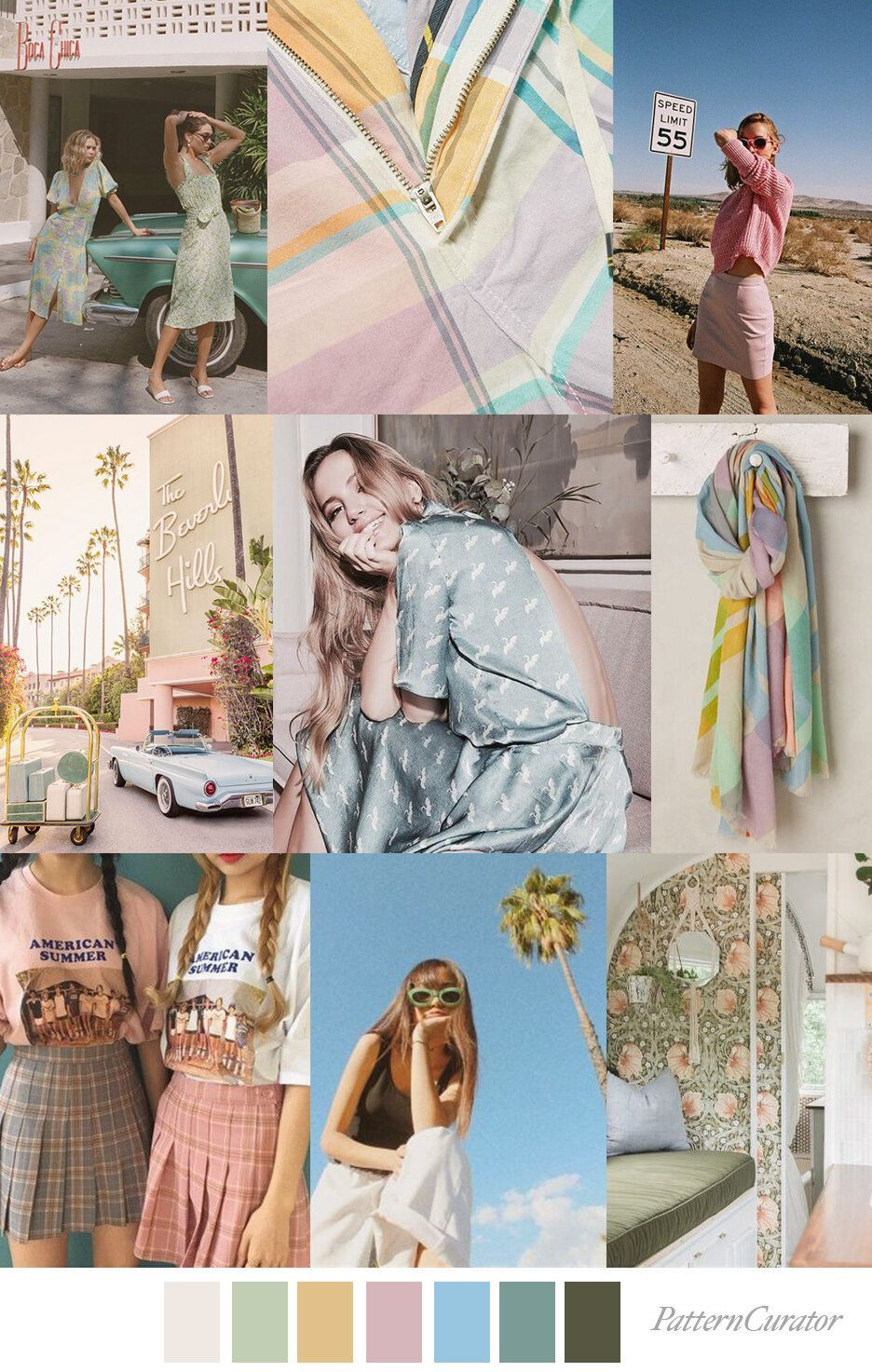 Camp Beverly Hills Beverly Hills Pattern Print Patterns
