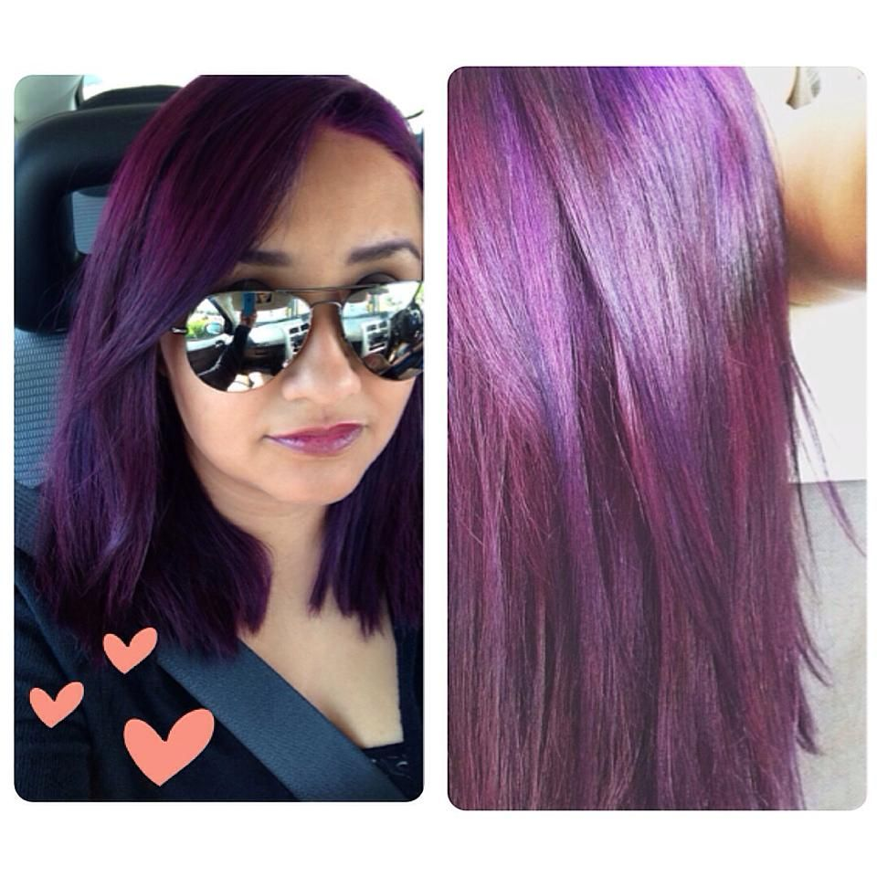 I Used Lusty Lavender From The Hair Dye Brand Splat Splat