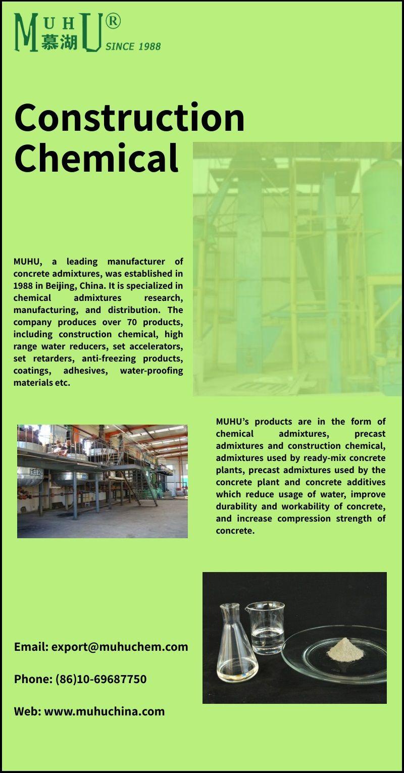 Muhu S Construction Chemicals Shop At Best Prices Chemical Construction Mix Concrete