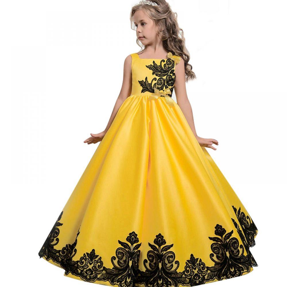 Teenage Girls Princess Wedding Dress Girls Bridesmaid Dresses Girls Christmas Dresses Kids Party Dresses
