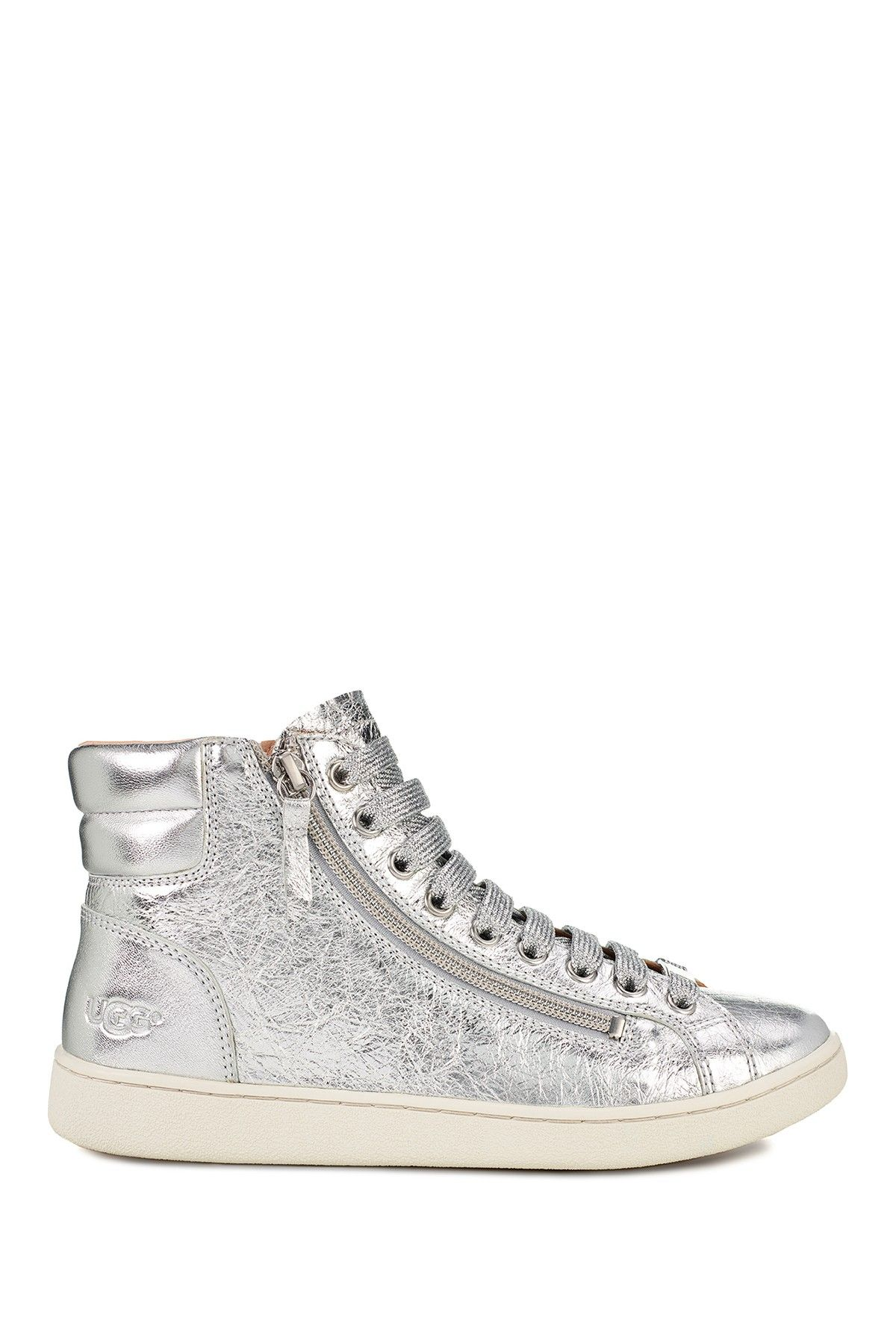 UGG | Olive Metallic Sneaker | Metallic
